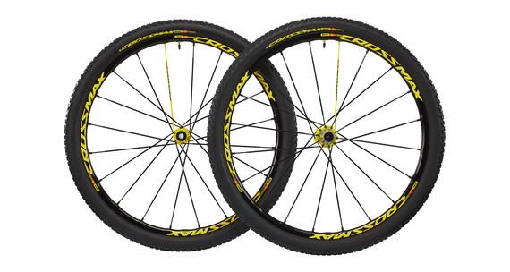 Mavic Crossmax SL PRO LTD wiel 29 inch, zwart geel/zwart